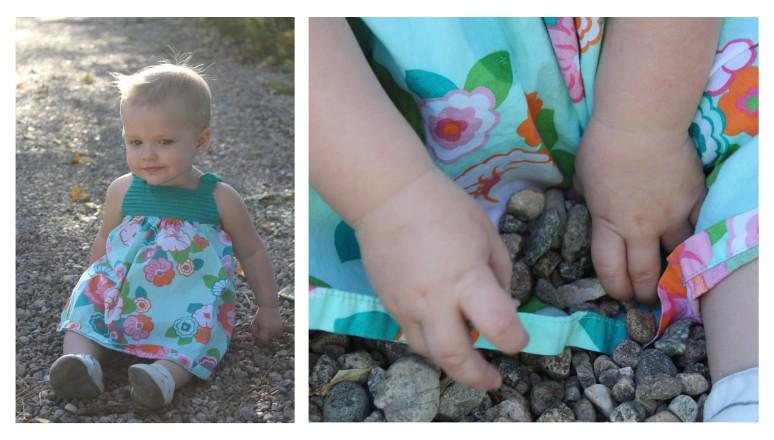paisley in rocks
